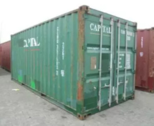 used steel shipping container Tulsa